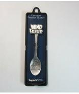 Vintage Riverside Amusement Park Mind Eraser Roller Coaster Pewter Spoon - $10.99