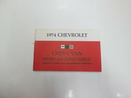 1974 Chevrolet Chevy Van Owners & Fahrer Manuell Betrieb Sicherheit Wart... - $14.82