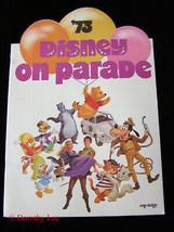 1973 Disney On Parade Show Program - $14.99