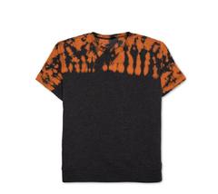 $40 Jem Men's Short-Sleeve Graphic-Print Sweatshirt, Black HTR, Size L - $14.84