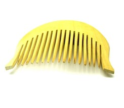 Fine Quality Smooth Polish Curved Sikh Kanga Singh Kakar Wooden Comb 1pc... - $6.01