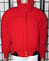 VINTAGE OBERMEYER SPORTS Women's Size 8 Red Zip Ski Winter Coat Jacket EUC - $34.82