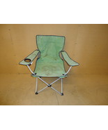 Standard Collapsable Chair 35in H x 33in W x 20in D Green FM6040-TN Fabr... - $18.91