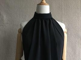 100% AUTHENTIC LOEWE LONG BLACK SLEEVELESS EVENING DRESS  image 4
