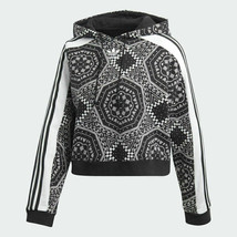 Adidas Originals Women's Cropped Hoodie Free Shipping DX1158 - $109.97