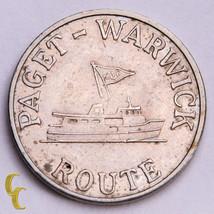 Bermuda Ferry Token Paget-Warwick Route About Uncirculated - $29.70