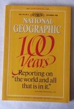 National Geographic Magazine Sept 1988 100 Years Collector's Centennial Issue - $9.89