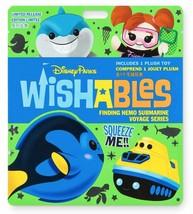 Disney Parks Wishables Mystery Plush ~ Finding Nemo Submarine Voyage Ser... - $17.81