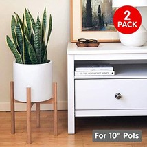 STNDRD. Bamboo Indoor Plant Stand: Mid-Century Modern. for Indoor Potted... - $42.00