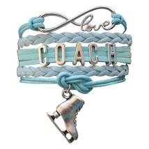 Figure Skating Coach Bracelet - Coach Jewelry - Perfect Figure Skating G... - $12.50