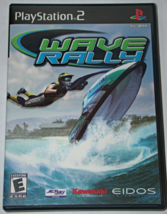 Playstation 2 - WAVE RALLY (Complete with Manual) - $8.00