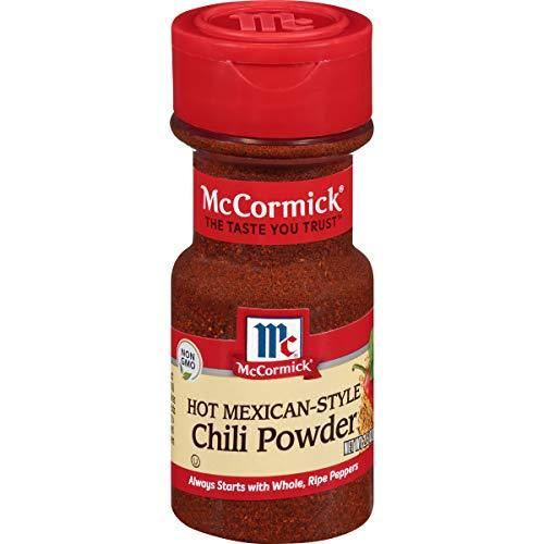 McCormick Hot Mexican Chili Powder, 2.5 Ounce (Pack of 1) - $14.80