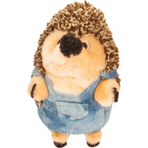 Petmate Heggie Rebel Farmer Plush Dog Toy  029695535857 - £15.21 GBP