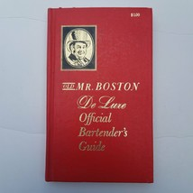 Old Mr. Boston Deluxe Official Bartenders Guide 1968 - $17.45