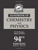 CRC Handbook of Chemistry and Physics, 94th Edition Haynes, William M. - $49.99
