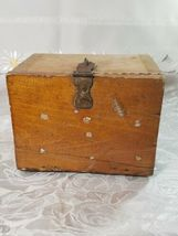 VINTAGE CLARITE HIGH SPEED COLUMBIA TOOL STEEL CO. WOODEN BOX image 5