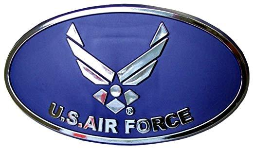 "Primary image for US AIR FORCE HITCH COVER ABS PLASTIC W/ NEW LOGO 2"" RECEIVER"