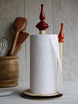 Standing Vertical Pipe Paper Towel Holder Tissue Holder for Kitchen Bathroom She - $23.63