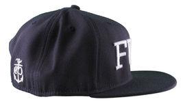 Crooks & Castles F.W.U Fu k with Us Dark Navy Snapback Baseball Hat NWT image 3