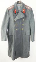 Soviet Russian Militia Police Major Uniform Officer Winter Overcoat USSR - $54.45