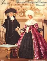 1796 Martha Washington Gown Paradise Vol 104 Barbie Doll NEW Crochet PAT... - $7.17