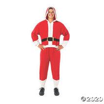 Adult's Onesie Santa Costume - $33.73