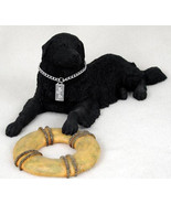 NEWFOUNDLAND MOUNTAIN DOG MY DOG Figurine Statue Pet Lovers Gift Hand Pa... - $32.00