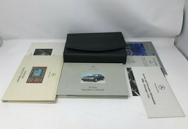 2000 Mercedes S Class Owners Manual Handbook Set With Case OEM Z0A0322 - $19.30