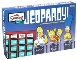 Jeopardy - The Simpsons Edition - Board Game [New] Pressman Toys - $19.99