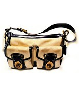 Coach Legacy Medium Khaki Signature Shoulder Bag - $199.00