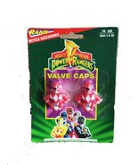 Mighty Morphin POWER RANGER Bicycle Valve Caps (Three Packets at 2 per P... - $11.14