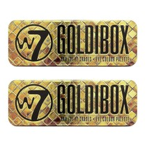 W7 Goldibox and the 12 Shades Eye Colour Palette Tin (2-Pack) - $16.99