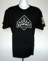 EUC MENS SUMMIT BREWING CO 30TH ANNIVERSARY T SHIRT XL BLACK - $16.30
