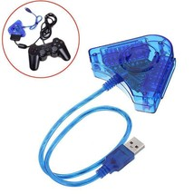 2 Port PS1 PS2 PSX to PC Adapter USB Converter for Game Controller Gamepads - $14.99