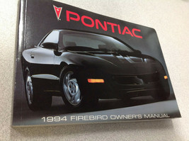1994 GM Pontiac Firebird Owners Owner Operators Manual FACTORY OEM - $14.79