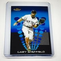 MLB GARY SHEFFIELD NEW YORK YANKEES 2004 TOPPS FINEST BLUE CHROME #96 MINT - $1.58