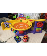 FISHER PRICE Lil Zoomers SPINNIN' SOUNDS SPEEDWAY Race Track - T5123 - $54.45