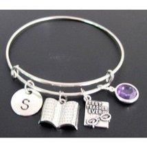 Gift For Teacher,Personalized teacher bracelet, Thank You Gift for Teachers - $15.80