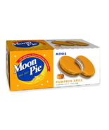 Moon Pie Pumpkin Spice Minis Fall Limited Edition Marshmallow Sandwich 1... - $12.55