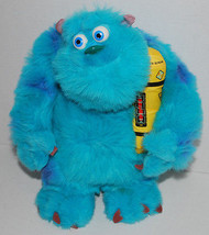 Glowing Bedtime Sulley Monsters Inc Plush Toy Helps Child Sleep Snores Lights Up - $14.80