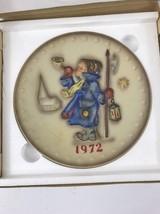 Hummel collector plate 1972 original box - $15.00