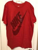 NIKE Men's Tee Logo T Shirt Graphic Swoosh ATHLETIC CUT SZ SMALL & LARGE... - $18.99