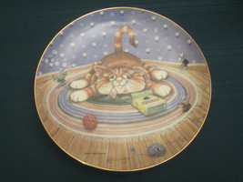 HAPPINESS Collector Plate GARY PATTERSON Comical Cats - $15.99