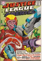 DC Justice League Of America #50 The Lord Of Time Attacks The 20th Century - $49.95