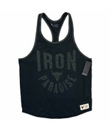 Under Armour Project Rock Men's Iron Paradise Bull Logo Muscle Tank 1357... - $49.99