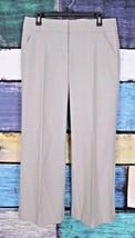 Ann Taylor LOFT 8 Wool Spandex Stretch Wide Leg Dress Pants Career Offic... - $14.84