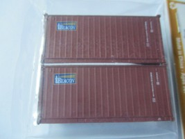 Jacksonville Terminal Company # 205313 Beacon Leasing 20' Brown Std Container image 1