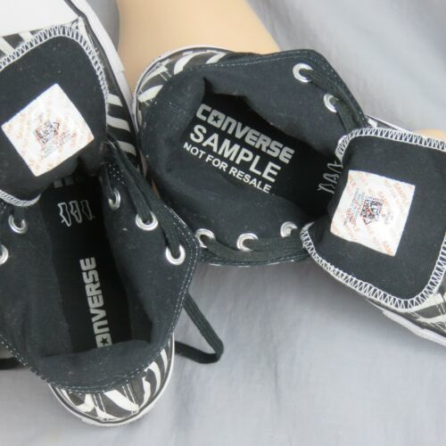 Converse Tout Étoile Chuck Tailleur Géométrique Rayé Échantillon Shoes Hommes 6 image 2