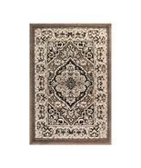 Superior Glendale Collection  Brown Oriental Design 2' x 3' Area Rug  - $29.65