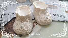 baby shoes mold 98 Sugarcraft Molds Polymer Clay Molds Cake Decorating T... - $25.25